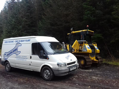 Plant Vehicle Repairs in Derbyshire